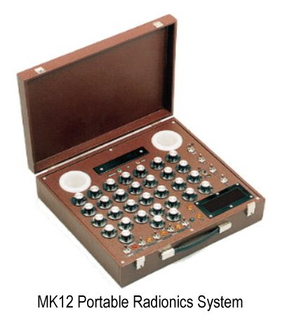 Portable CopenLabs MK12 Radionics System